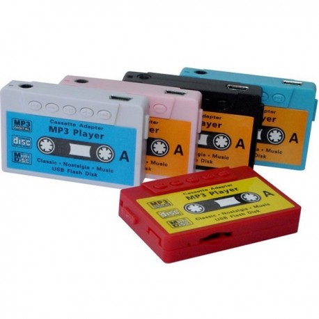 Reproductor MP3 Cassette Retro En Caja