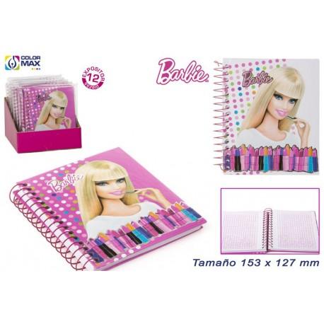 Libreta Barbie con 60 hojas
