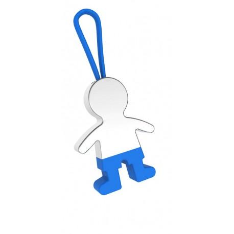 Llavero niño pantalones azul
