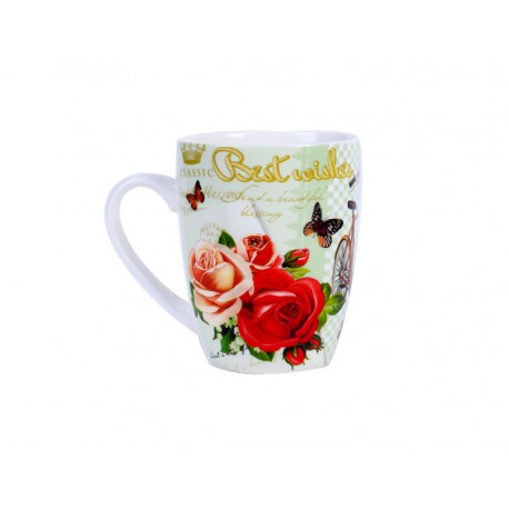"TAZA ""RETROBEST WISHES"" EN CAJA DE REGALO"