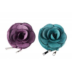 "CARTERA MONEDERO ""FLOWER"""