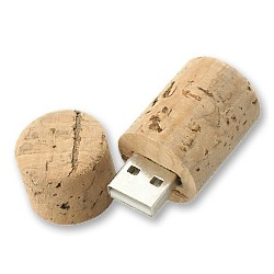 USB CORCHO TAPON BOTELLA VINO 4GB