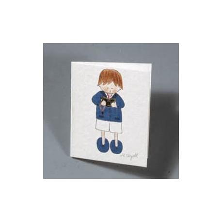 Lote de 100 tarjetas niño comunion