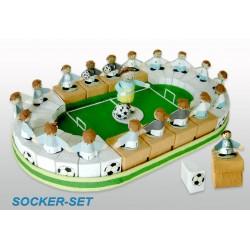 Expositor Campo Futbol + 30 cajitas futbolistas