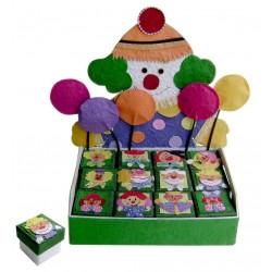 Expositor Joker + 12 cajitaws infantiles joker