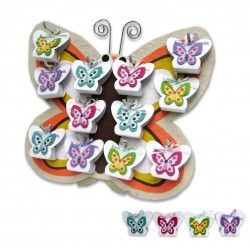 Expositor Mariposa Primavera + 12 cajitas mariposa