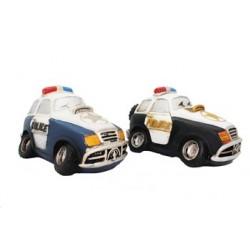 Hucha resina coche policia