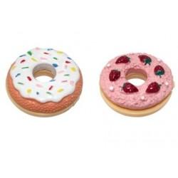 Bálsamo brillo de labios en forma de Donuts